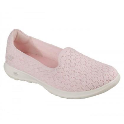Pink - Women's Skechers GOwalk Lite - Daisy
