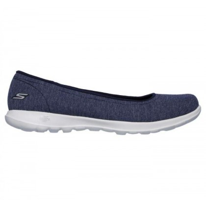 Navy - Women's Skechers GOwalk Lite - Endear