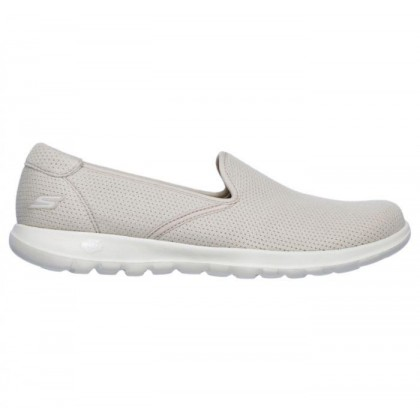 Natural - Women's Skechers GOwalk Lite - Heavenly