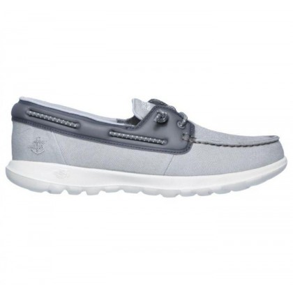 Grey - Women's Skechers GOwalk Lite - Sirena
