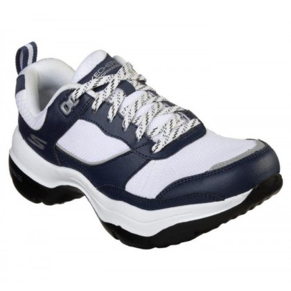 Navy/White - Women's Skechers GOwalk Mantra Ultra