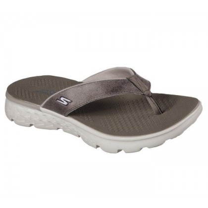 Taupe - Women's Skechers On the GO 400 - Essence