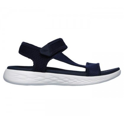 Navy/White - Women's Skechers On the GO 600 - Rubix