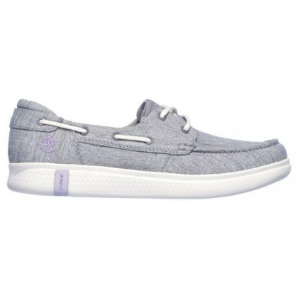 Grey - Women's Skechers On the GO Glide Ultra