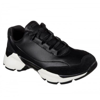Black/White - Women's Skechers ONE Bora - Invoke