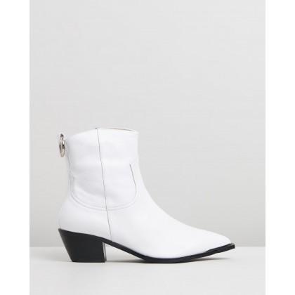 Jax White Leather by Skin