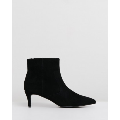 James Boots Black Suede by Sol Sana