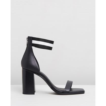 Redfern Heels Black by Sol Sana