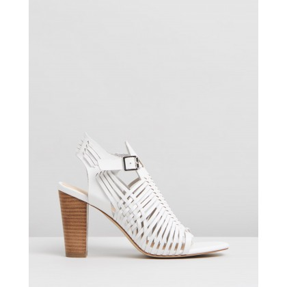 Cordella Heels White Smooth by Spurr