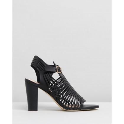 Cordella Heels Black Smooth by Spurr