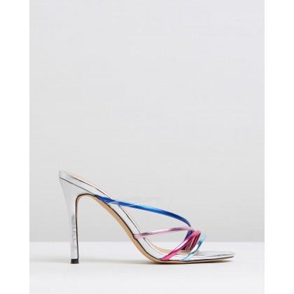 Bess Heels Multi Metallic by Spurr