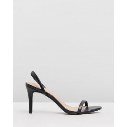 Brighton Heels Black Smooth by Spurr