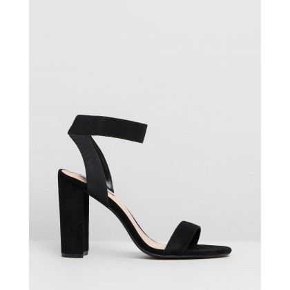 Celebrate Black Suede by Steve Madden