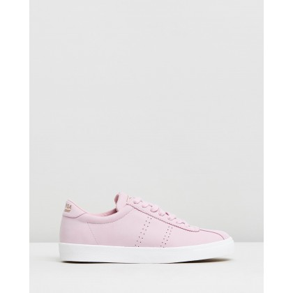 Club S Nubuck Light Violet Sorbet by Superga
