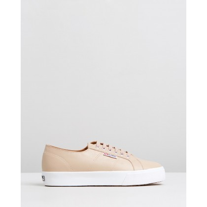 2730 Nappa Leather - Women's Nude by Superga