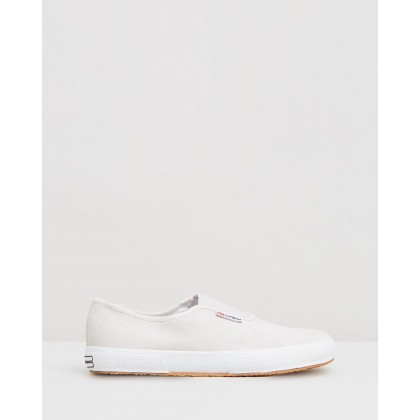 Superga x Alexa Chung 2503-Suede White Cream by Superga