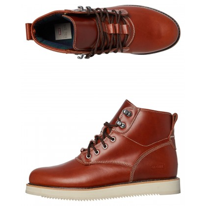 Komachi Nate Tyler Leather Boot Tawny Brown By GLOBE