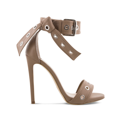 Acadia Camel Denver Heels by Tony Bianco Shoes