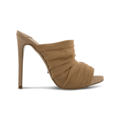 Adee Nude Mesh Heels by Tony Bianco Shoes