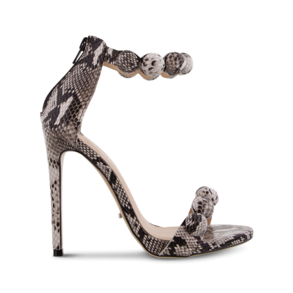 Avia Natural Snake Heels by Tony Bianco Shoes