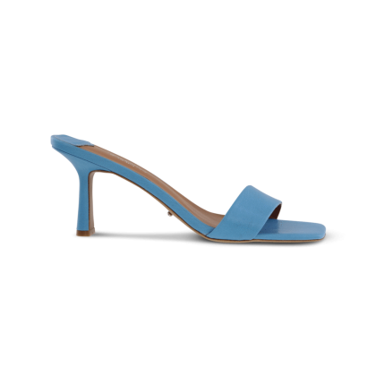 Beauty Blue Kid Heels by Tony Bianco Shoes