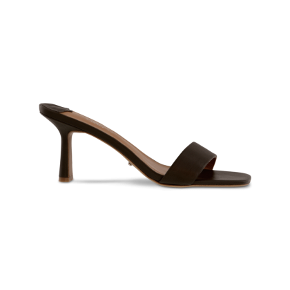 Beauty Khaki Kid Heels by Tony Bianco Shoes