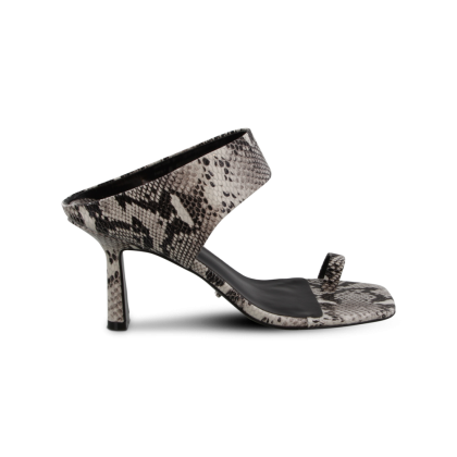 Bevi Natural Snake Heels by Tony Bianco Shoes