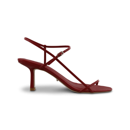Caprice Brick Kid Heels by Tony Bianco Shoes