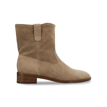 Conor Natural Suede Ankle Boots by Tony Bianco Shoes