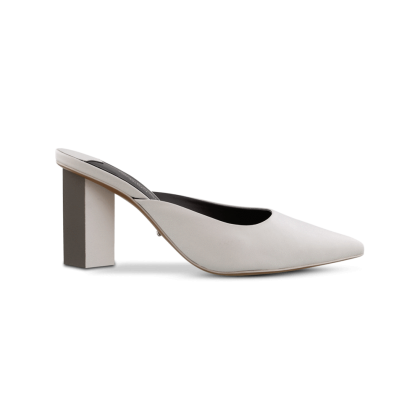 Electra Milk Capretto/Grey Heels by Tony Bianco Shoes
