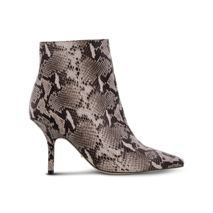 Elia Natural Snake Ankle Boots by Tony Bianco Shoes