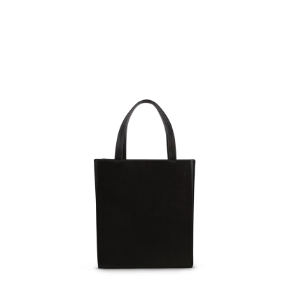 Elly Black Nappa Tote Bag by Tony Bianco Shoes