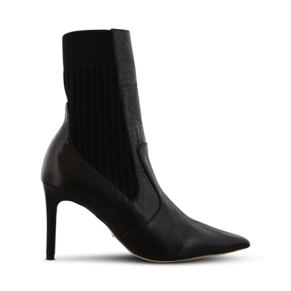Emani Black Como Ankle Boots by Tony Bianco Shoes