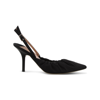 Eska Black Nylon Heels by Tony Bianco Shoes