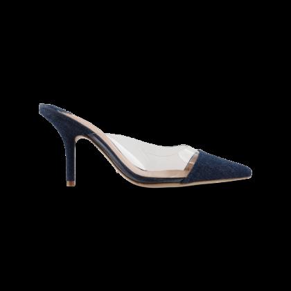 Evon Indigo Denim Heels by Tony Bianco Shoes