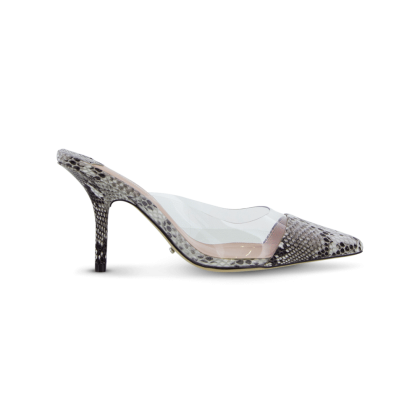 Evon Natural Snake Heels by Tony Bianco Shoes