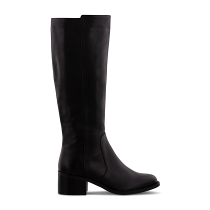 Fantasia Black Como Long Boots by Tony Bianco Shoes