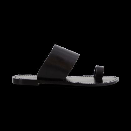 Flicka Black Flats by Tony Bianco Shoes