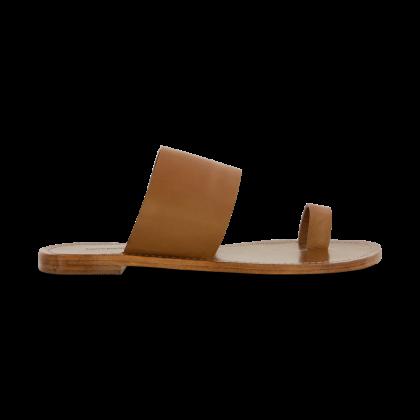 Flicka Tan Flats by Tony Bianco Shoes