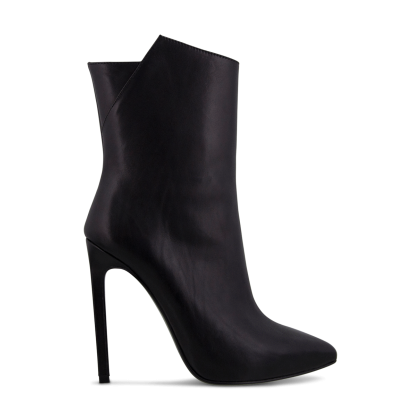 Frappe Black Como Ankle Boots by Tony Bianco Shoes