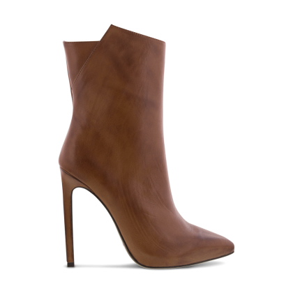 Frappe Tan Albany Ankle Boots by Tony Bianco Shoes
