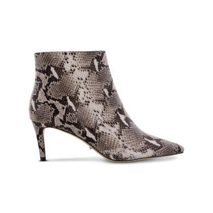 Gessy Natural Snake Ankle Boots by Tony Bianco Shoes