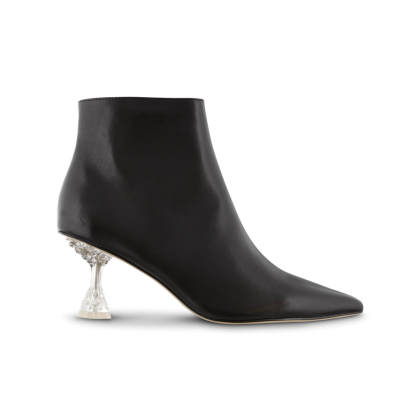 Glam Black Como Ankle Boots by Tony Bianco Shoes
