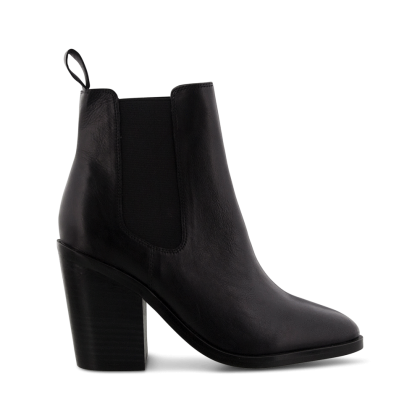 Black Albany - Glaze Black Albany Ankle Boots by Tony Bianco Shoes