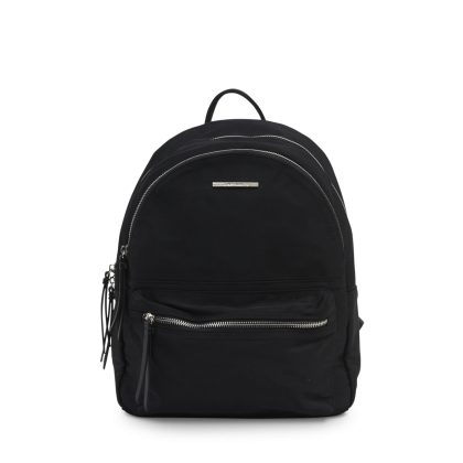 Griffin Black Nylon Backpack by Tony Bianco Shoes