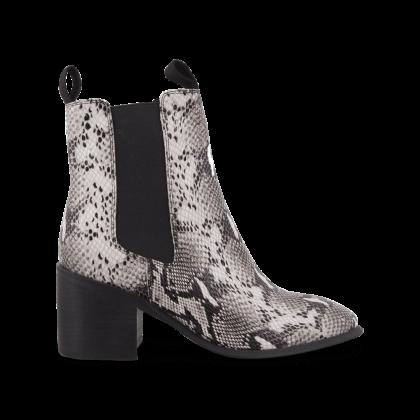 c771dfece5d TONY BIANCO - Hampton Natural Snake Ankle Boots by Tony Bianco Shoes