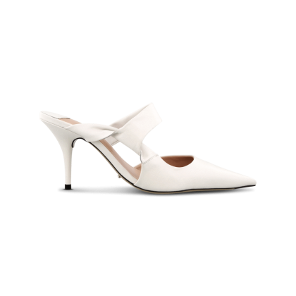 Hank Milk Capretto Heels by Tony Bianco Shoes