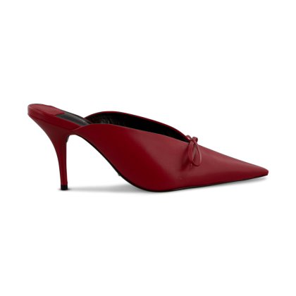 Harlee Red Denver Heels by Tony Bianco Shoes