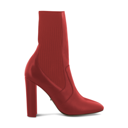 Jaxson Red Denver Ankle Boots by Tony Bianco Shoes