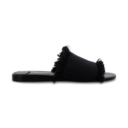 Jayd Black Osaka Flats by Tony Bianco Shoes